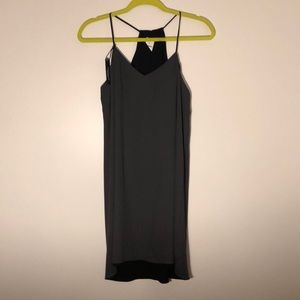 Black reversible dress